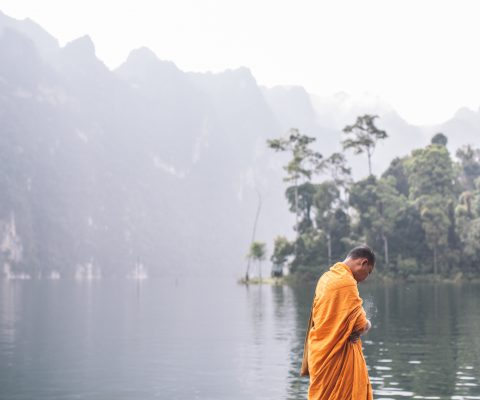 Monk in Thailand